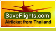 Airticket from Thailand by SaveFlights.com